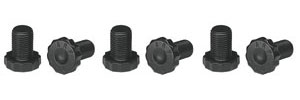 "1978-88 El Camino Driveline Bolts Flywheel High-Performance - V6/V8 w/2-Piece Rear Main Seal 7/16""-20 Thread, 1.00""UHL"