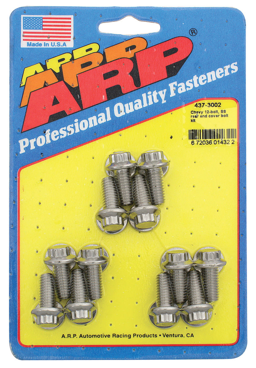 Photo of Rear End Cover Bolts, Stainless 12-bolt