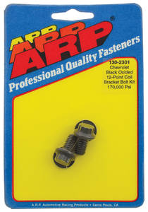 1978-88 Monte Carlo Ignition Coil Bracket Bolts 12-Point Head Black Oxide, by ARP