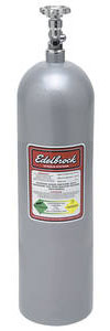 1964-1972 Cutlass Nitrous Bottles 15-Lb. (Silver), by Edelbrock