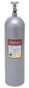 1961-72 Skylark Nitrous Bottles 15-Lb. Silver, by Edelbrock