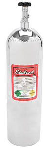 1964-1972 Cutlass Nitrous Bottles 15-Lb. (Polished), by Edelbrock