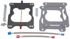 1964-1973 GTO Nitrous Plate Kits Spread-Bore (Q-Jet) Carb (100-250HP), by Edelbrock