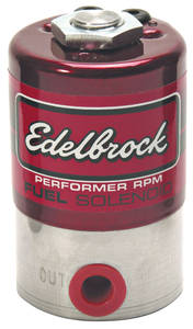 1964-73 LeMans Nitrous/Fuel Solenoids, Stainless Steel Performer Rpm, by Edelbrock