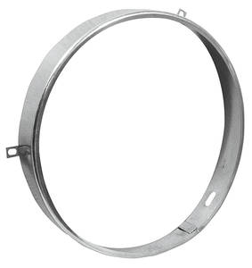 1970-1972 Monte Carlo Headlamp Retaining Ring (Round), by RESTOPARTS
