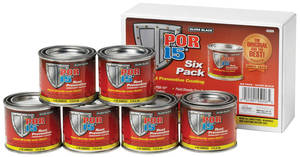 Six Pack Of Rust Preventive Paint, by POR-15