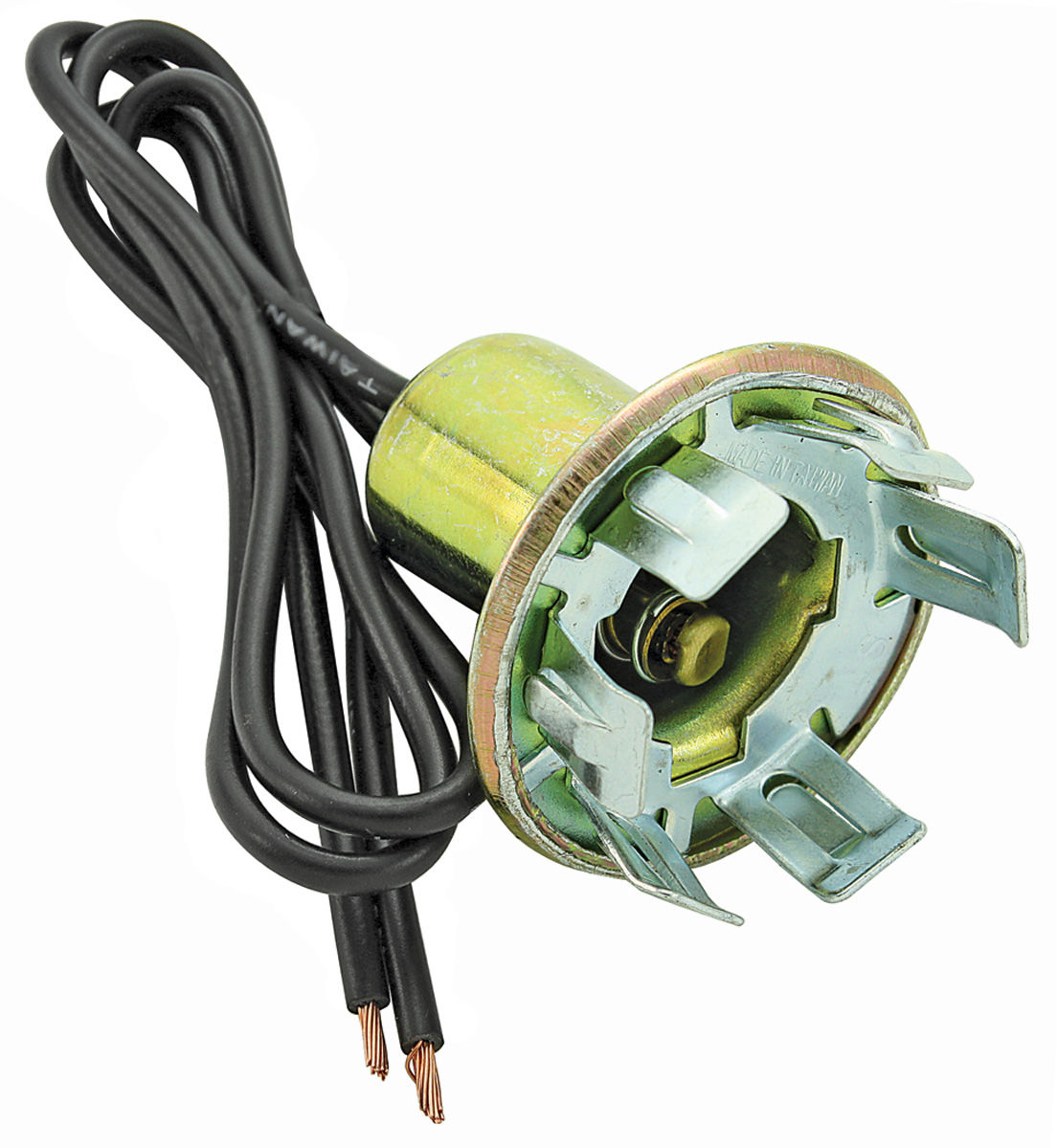 grand prix light socket, turn signal 2-wire, fits 1-1/  tap to enlarge