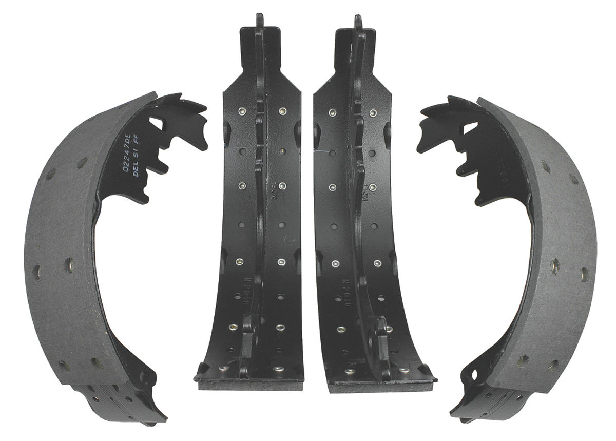 Photo of Tempest Brake Shoes; AC Delco Dura-Stop drum shoes, rear (semi-metallic)