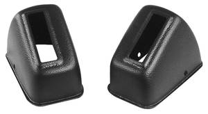 1967-72 Grand Prix Seat Belt Retractor Covers RCF - 300 (5.1x2.8x2.4)