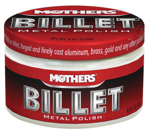 Billet Metal Polish 4-oz., by Mothers