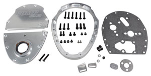 1978-88 Malibu Timing Cover, Three-Piece Aluminum Big Block, by Comp Cams