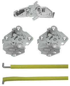 1968-1972 El Camino Tailgate Latch Set, by RESTOPARTS