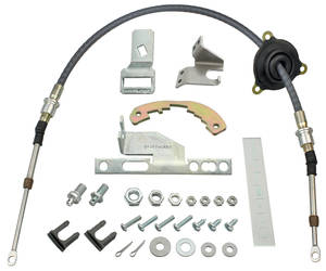 1966-1967 El Camino Shifter Conversion, Powerglide 2004-R/700r-4