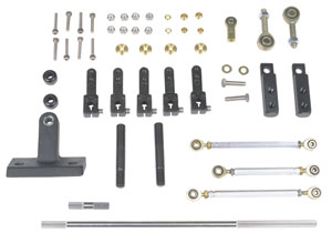 1978-1988 El Camino Tunnel Ram Linkage Kits 396-454, by Barry Grant