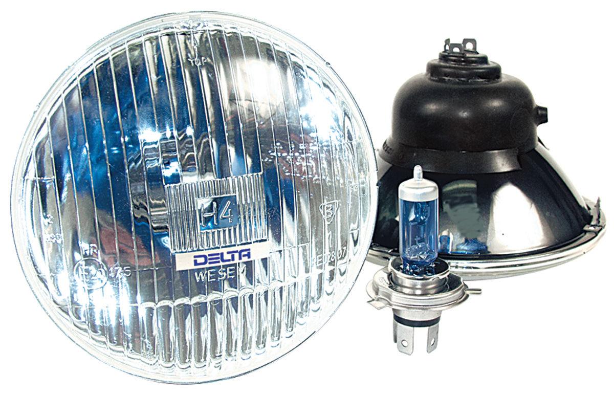 "Photo of Headlights, High-Performance High/Low, 7"" w/Xenon bulb"