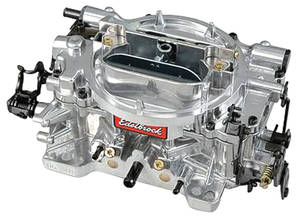 Carburetor, Thunder Series AVS Manual Choke 650 CFM, w/Standard Finish, by Edelbrock