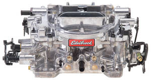 Carburetor, Thunder Series AVS Manual Choke 800 CFM, w/Standard Finish