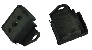 1964-1964 Chevelle Motor Mount - Mounts To Block (Rubber) L6-230