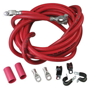 1978-88 Monte Carlo Battery Cable, Ultimate Red, by Taylor