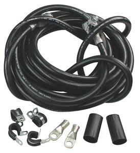 1962-1977 Grand Prix Battery Cable, Ultimate Black, by Taylor