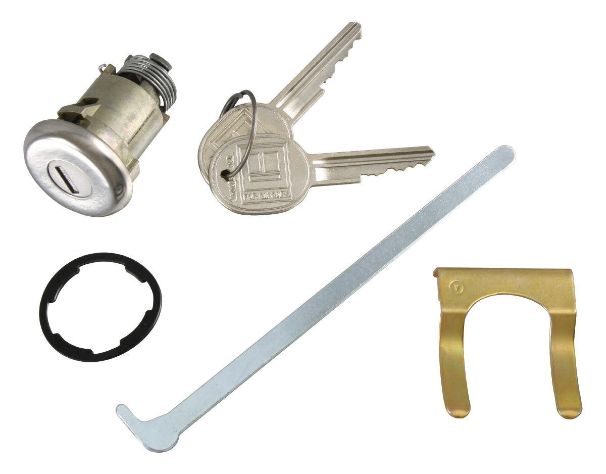 Photo of Bonneville Trunk Lock Non-Gm round key