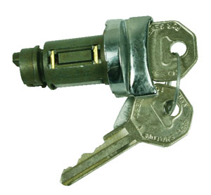 1964 El Camino Ignition Lock Octagon Keys, Non-GM