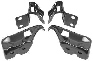 1971-72 Bumper Brackets Chevelle, Rear (4-Piece), by RESTOPARTS