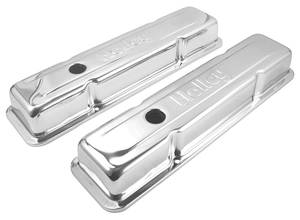 1978-88 Monte Carlo Valve Covers, Custom Chrome (Small-Block), by Holly