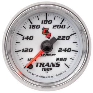 """1964-73 GTO Gauges & Tachometers; C2 2-1/16"""" Transmission Temperature (100-260°F)"""