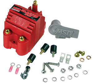 1961-73 GTO Ignition Coil, Blaster SS, by MSD