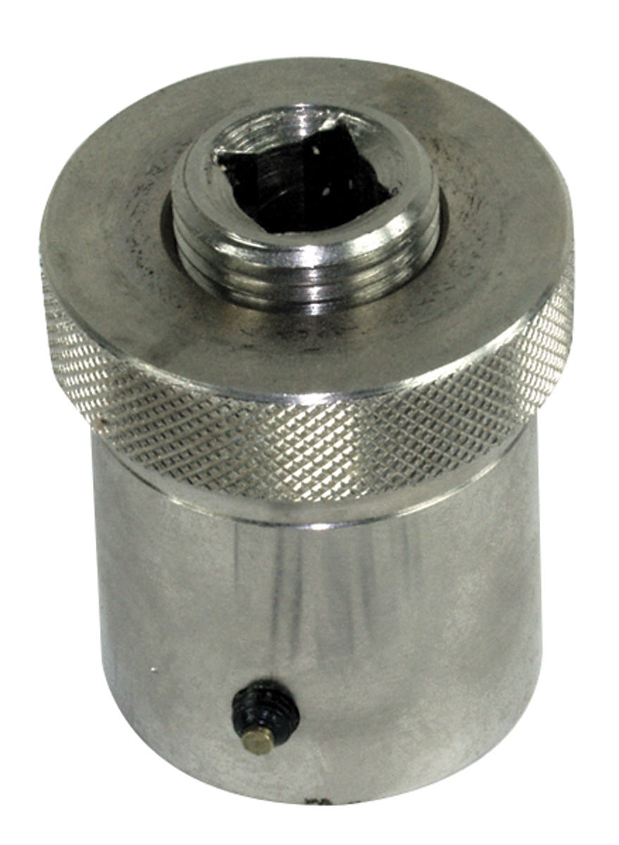 """Photo of Monte Carlo Crankshaft Turning Socket (Pro) For Small-Block & V6 Chevy 1.255"""" ID with 3/16"""" Keyway"""