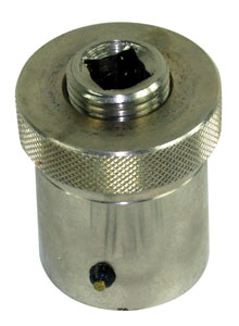 "1964-1977 Chevelle Crankshaft Turning Socket (Pro) Big Block Chevy 1.610 ID w/3/16"" Keyway"