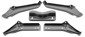 1964-1965 El Camino Bumper Brackets Rear (5-Piece), by RESTOPARTS