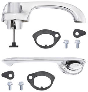 1960-62 Grand Prix Door Handle Replacement Kit 2-dr./4-dr. (Front), by TRIM PARTS