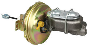 "1964-1966 El Camino Brake Booster, Power (Delco-Moraine) Disc 9"" w/Master Cylinder, by CPP"
