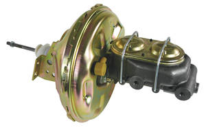 "1967-1972 Chevelle Brake Booster, Power (Delco-Moraine) Disc 11"" w/Master Cylinder, by CPP"