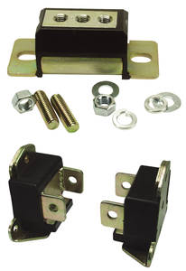 1964-1967 Chevelle Motor/Transmission Mount Combo Kit, Polyurethane Chevelle 283 8-Cyl., by Prothane