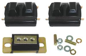 1973-1977 Chevelle Motor/Transmission Mount Combo Kit, Polyurethane Chevelle 250 6-Cyl., by Prothane