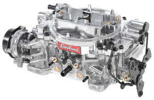 Carburetor, Thunder Series AVS 650 Cfm Electric Choke, by Edelbrock