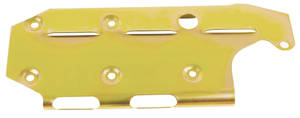 1978-88 Malibu Windage Tray, Solid Louvered Small Block 400, LH Dipstick