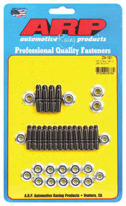 1964-77 Chevelle Oil Pan Studs Small-Block Hex Head – Black, by ARP
