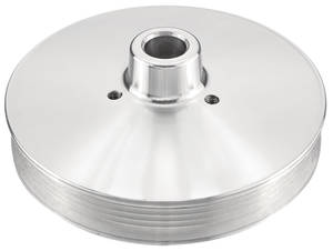 1978-1988 El Camino Serpentine Pulley For Power Steering Performance (Increases Horsepower) 5-Rib w/Press Fit