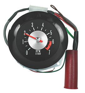 1964-65 Chevelle Clock To Tach Conversion