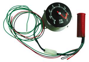 1968-1968 El Camino Clock To Tach Conversion