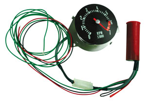 1968 El Camino Clock To Tach Conversion