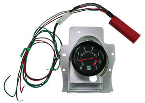 1969 Chevelle Clock To Tach Conversion