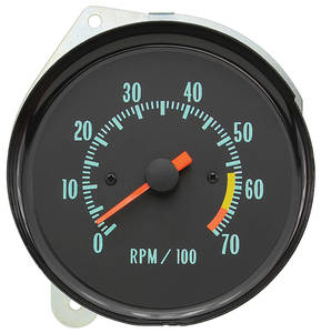 1970-1970 Monte Carlo Clock To Tach Conversion
