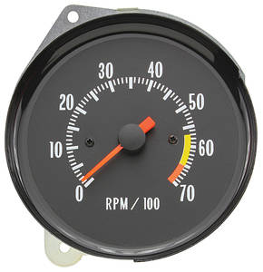 1971-72 Chevelle Clock To Tach Conversion Round SS Gauge Only