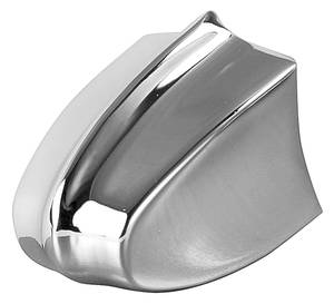 1966-1966 El Camino Seat Track Adjustment Knob (Front Seat) Chrome, by TRIM PARTS