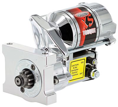 1978-1988 Monte Carlo Starter, XS Torque (200-Ft./Lbs.) Chrome ** 168-Tooth, by POWERMASTER